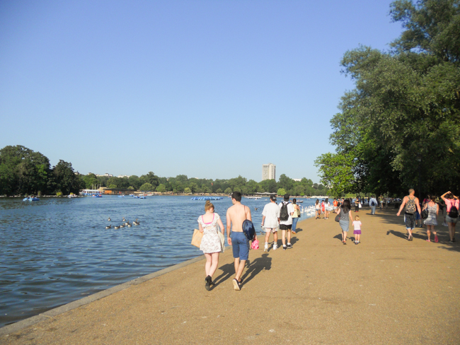 Hyde park & vardagsmotion