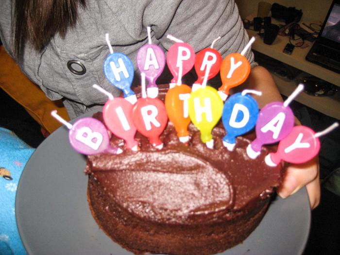 Hipp Hurra för idag är det min födelsedag
