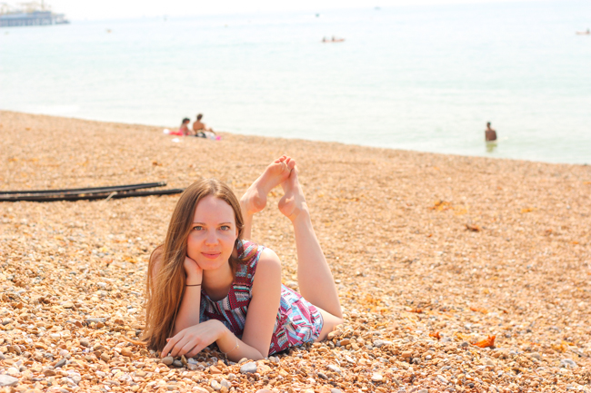 Brighton & Årets varmaste dag