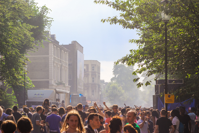 Notting Hill Carnival- Dag 1