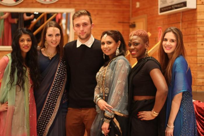 Ett pakistansk bröllop i Frankfurt