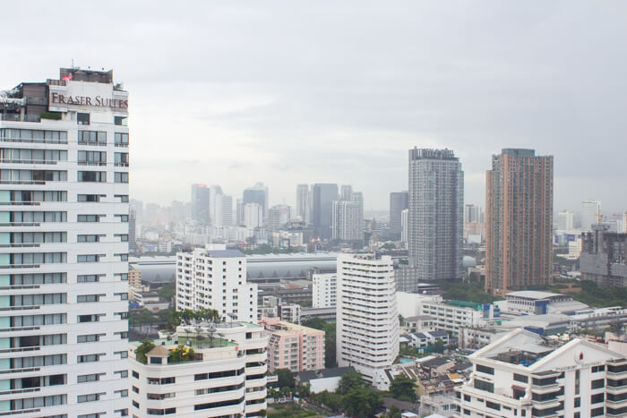 Bangkok: I love our view from the 25th floor