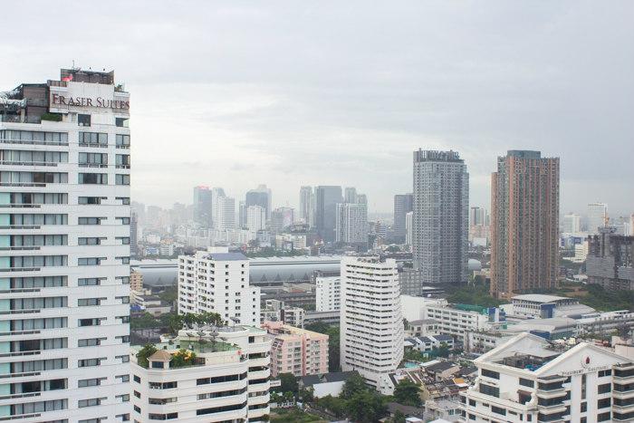 view from aloft bangkok hotel