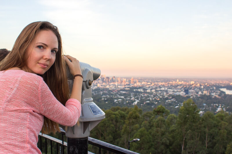 Brisbane Must Do: View from the Mt.Coot-Tha lookout