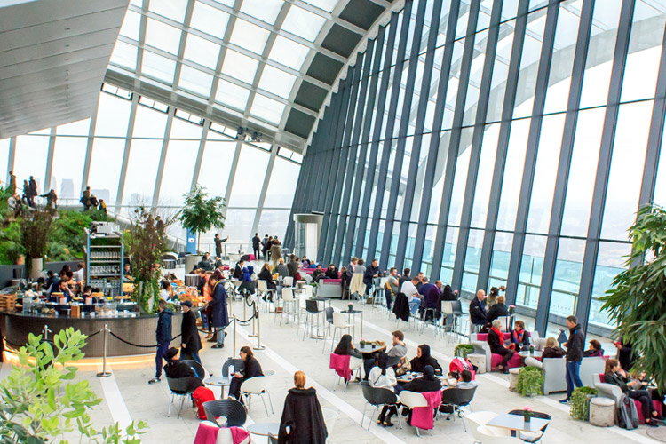 Sky Garden: London's highest garden