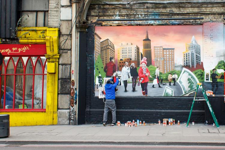 Touring the Shoreditch Street Art Scene